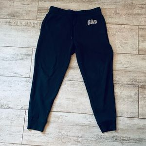 Men's GAP BLACK sweatpants size Medium